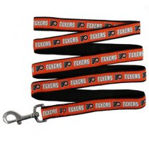 Philadelphia Flyers Woven Dog Leash