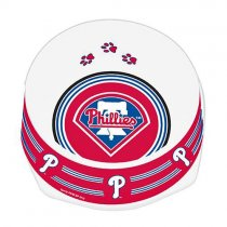 Philadelphia Phillies Designer Dog Bowl