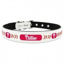 Philadelphia Phillies Leather Baseball Collar