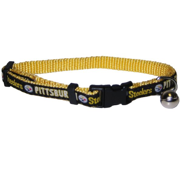 Pittsburgh Steelers NFL Cat Collar