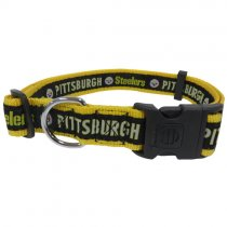 Pittsburgh Steelers Woven Dog Collar