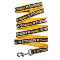 Pittsburgh Steelers Woven Dog Leash