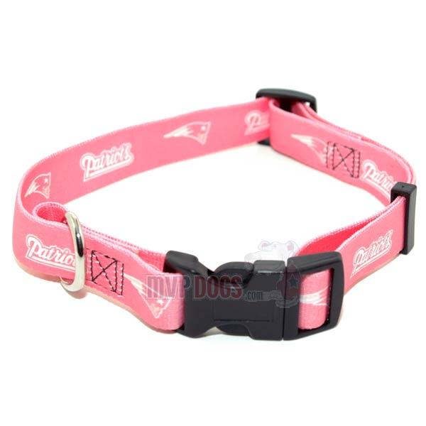 3958b3713 New England Patriots NFL Pink Dog Collar