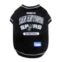 San Antonio Spurs NBA Dog Tee Shirt