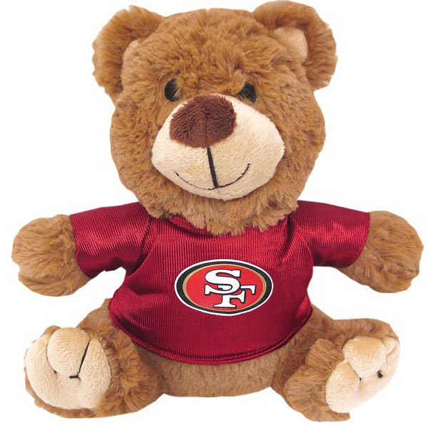 San Francisco 49ers NFL Teddy Bear Toy