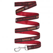 San Francisco 49ers Woven Dog Leash