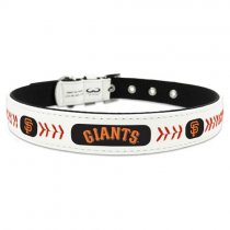 San Francisco Giants Leather Baseball Collar