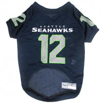 Seattle Seahawks 12th Man Dog Jersey