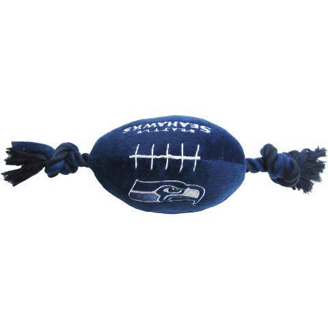 Seattle Seahawks NFL Dog Football Toy