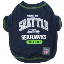 Seattle Seahawks NFL Dog Tee Shirt
