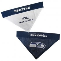 Seattle Seahawks NFL Reversible Dog Bandana