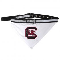 South Carolina Gamecocks NCAA Dog Collar Bandana