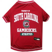 South Carolina Gamecocks NCAA Dog Tee Shirt