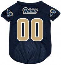 St Louis Rams NFL Dog Jersey
