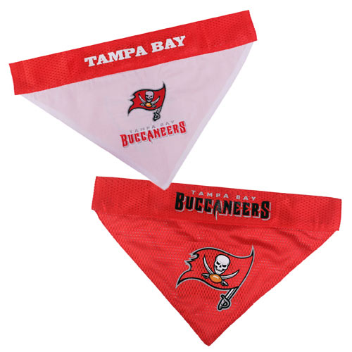 Tampa Bay Buccaneers NFL Reversible Dog Bandana
