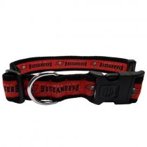 Tampa Bay Buccaneers Woven Dog Collar