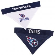 Tennessee Titans NFL Reversible Dog Bandana
