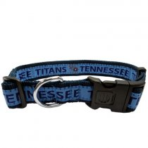 Tennessee Titans Woven Dog Collar