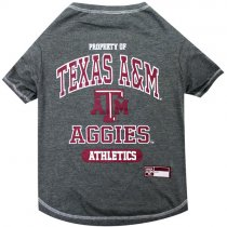 Texas A&M Aggies NCAA Dog Tee Shirt
