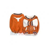 Texas Longhorns Dog Varsity Jacket