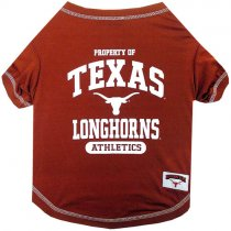 Texas Longhorns NCAA Dog Tee Shirt