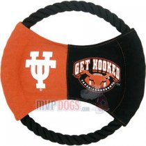 Texas Longhorns NCAA Rope Disk Toy
