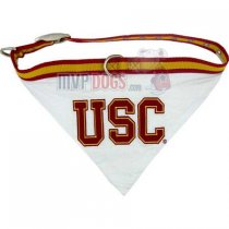 USC Trojans NCAA Dog Collar Bandana