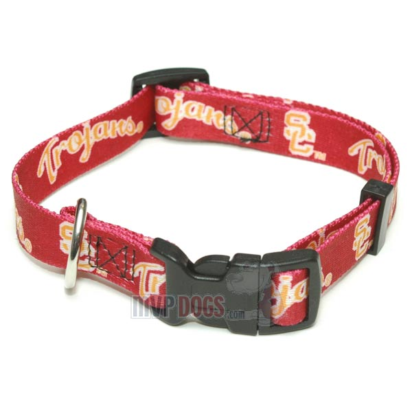 USC Trojans NCAA Dog Collar
