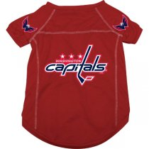 Washington Capitals NHL Dog Jersey - Extra Large