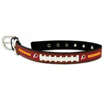 Washington Redskins Classic Leather Collar