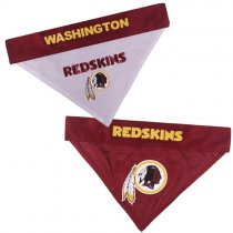 Washington Redskins NFL Reversible Dog Bandana