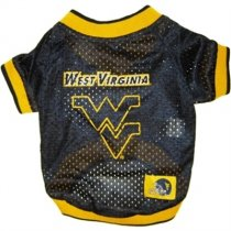 West Virginia NCAA Dog Jersey