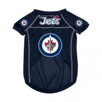 Winnipeg Jets NHL Dog Jersey - Extra Large