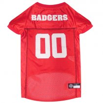 Wisconsin Badgers NCAA Dog Jersey