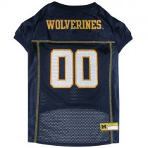 Wolverines NCAA Dog Jersey